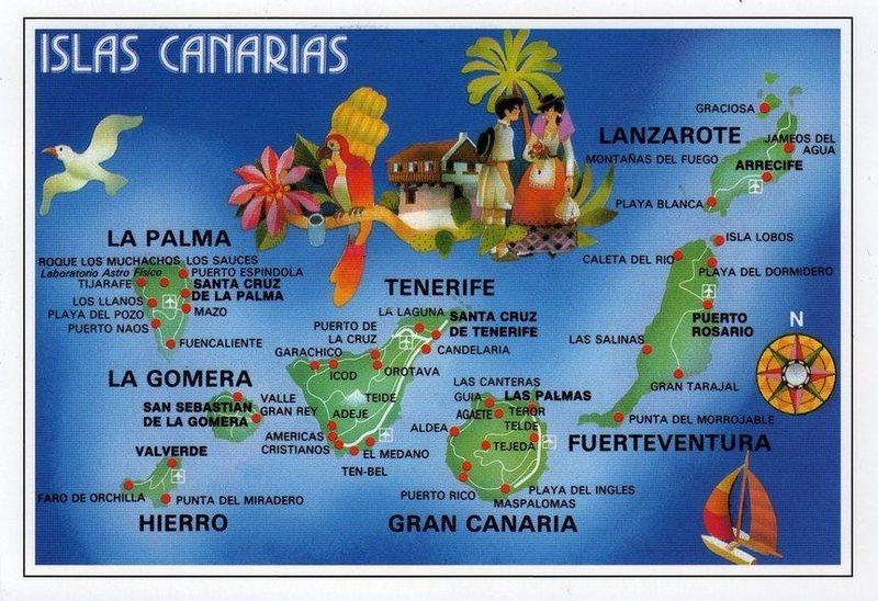 canarskie ostrova 2014-2015