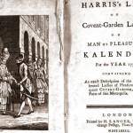 Каталог проституток представил Лондонский музей