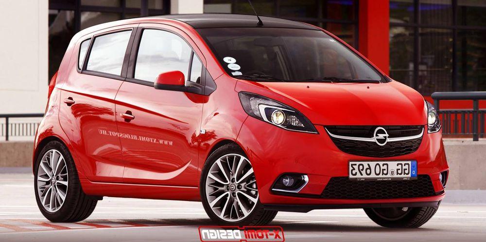 2015 Opel Karl Geneva