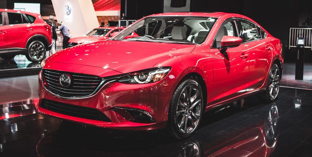 2016 Mazda 6 Geneva