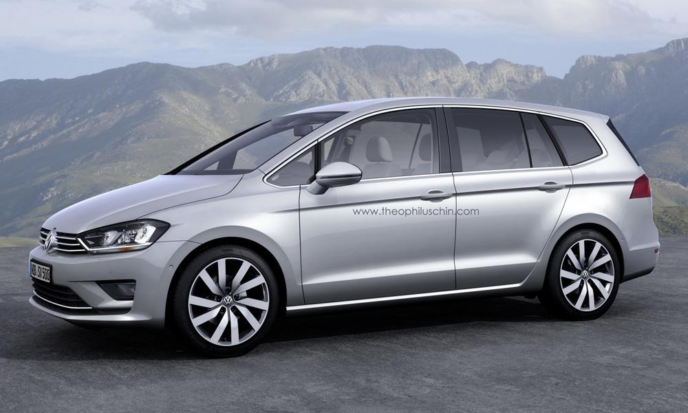 Volkswagen Touran 2015 v Geneve