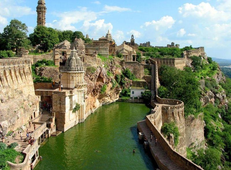 krepost v Indii