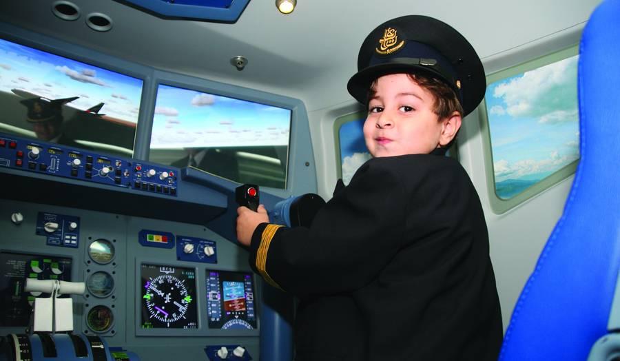 KidZania avia pilot
