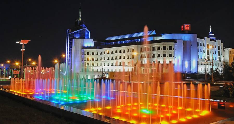 fontani v Kazani