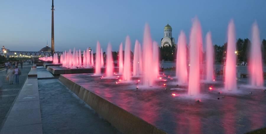 fontani v Moskve