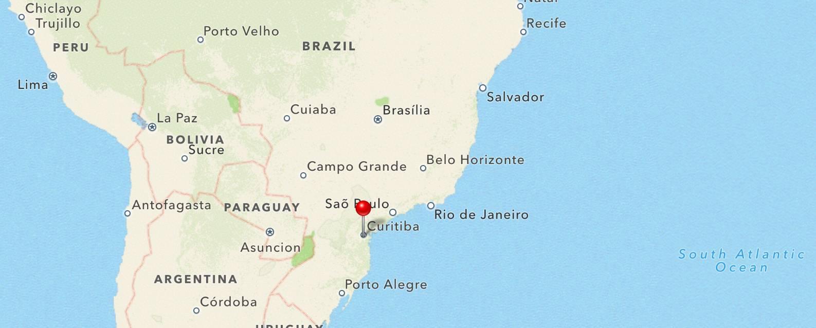 Brasil curitiba 2015-2016