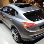 Maserati Levante (Мазерати Леванте) покажут в Детройте в 2016 году