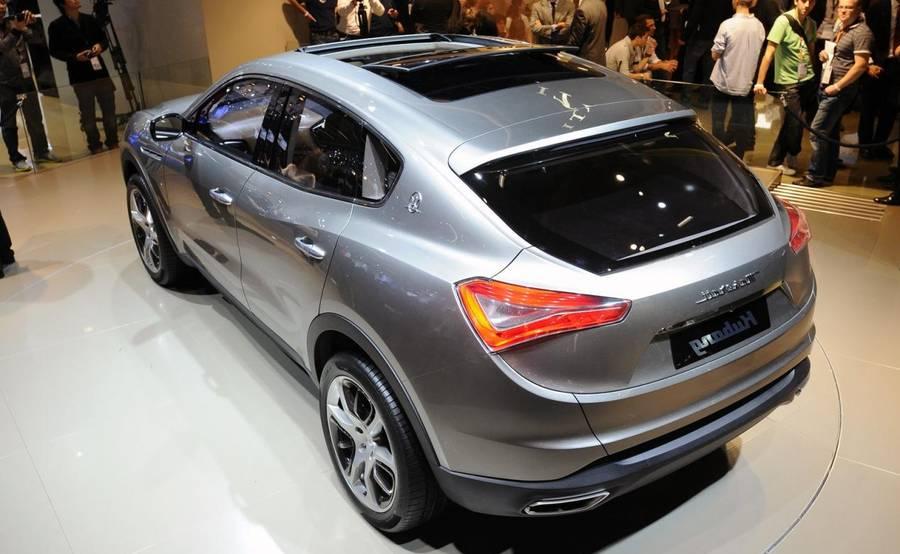 Maserati Levante 2016 foto