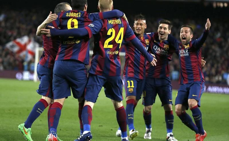 barcelona 2015 team
