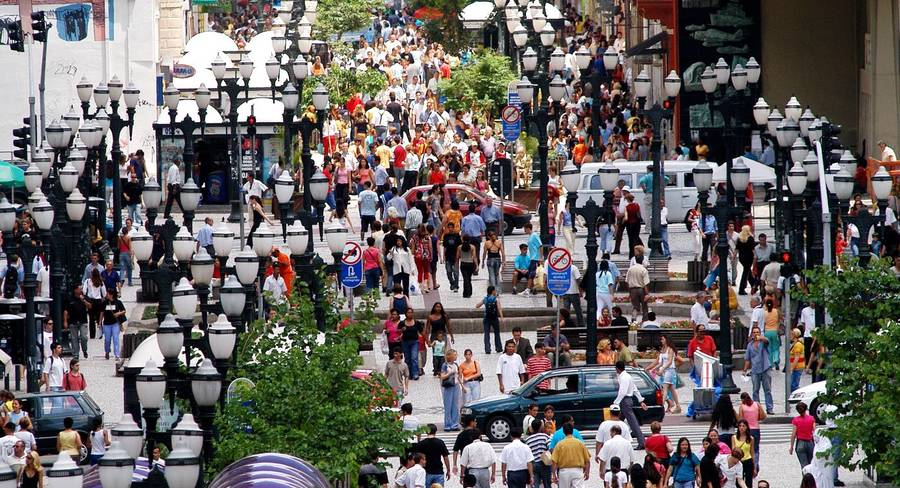 curitiba streets 2015