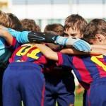 Детский футбольный лагерь Барселона в Сочи