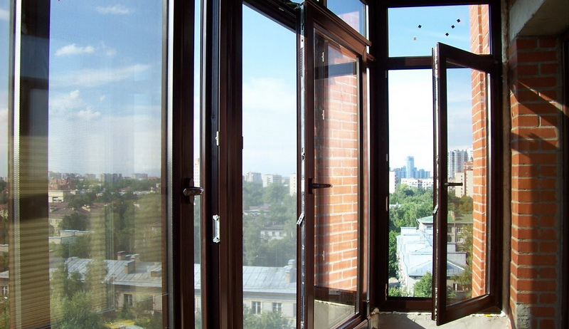 Устанавливаем новые окна