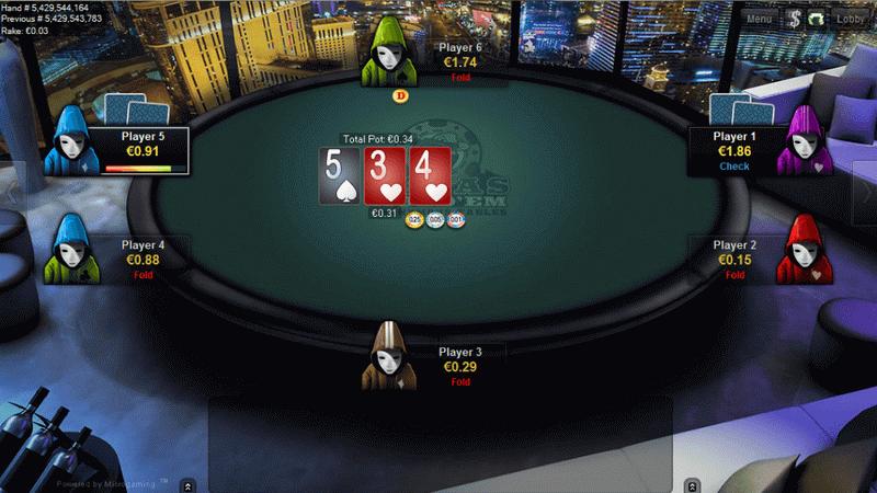 Платформа Microgaming и немного о Покере