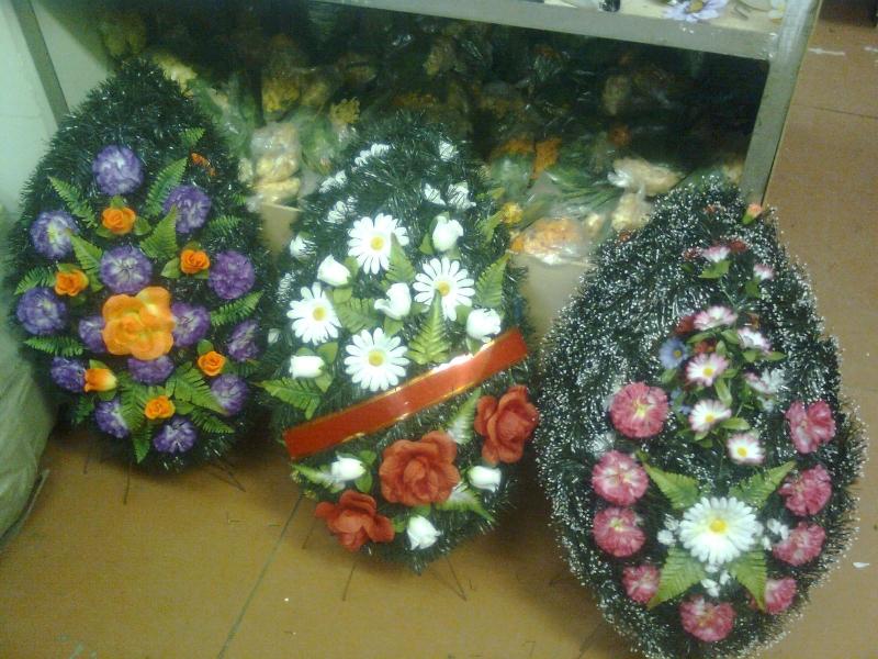 Где купить венок на похороны?