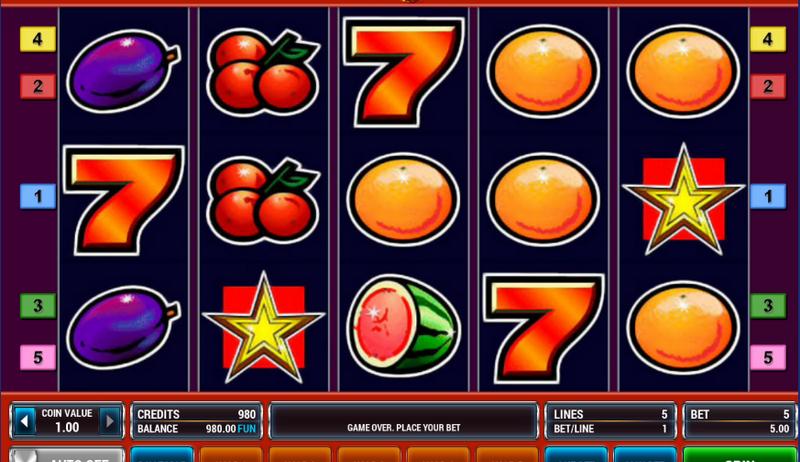 Фруктовые игровые автоматы. Почему изображения именно фруктов?