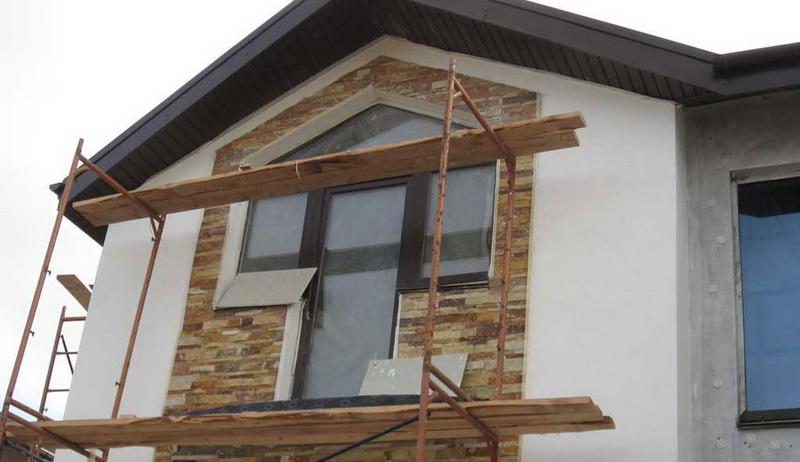 фасадная отделка дома