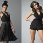 Черные вечерние платья