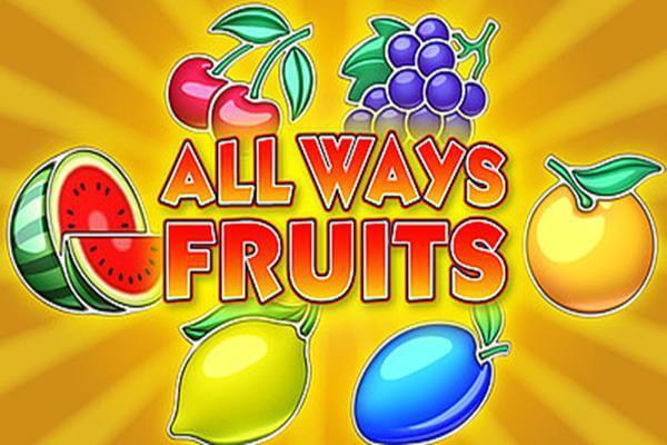 Игровой автомат All Ways Fruits