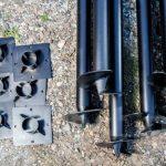 Винтовые сваи — особенности производства и монтажа