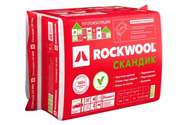 Утеплитель Rockwool - преимущества, свойства минеральной ваты