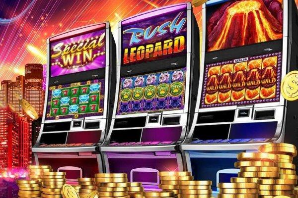 Игровые автоматы в казино СпинВин