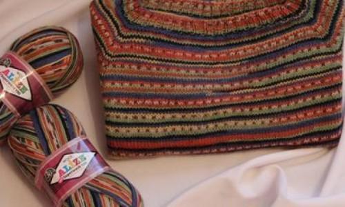 Акриловая пряжа для вязания спицами